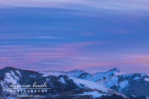 'Striped Sky At Day's End' © Denise Bush click here to view larger or order a print