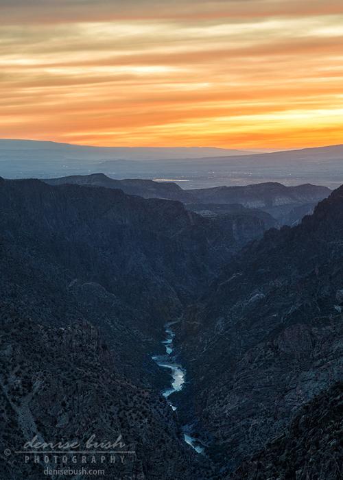'After Sunset, Black Canyon'  © Denise Bush
