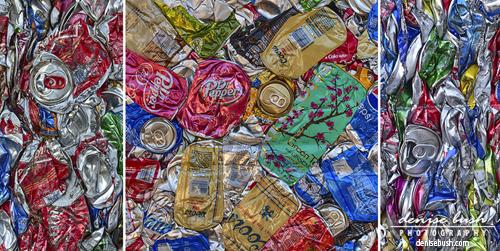 'Branded Triptych' © Denise Bush