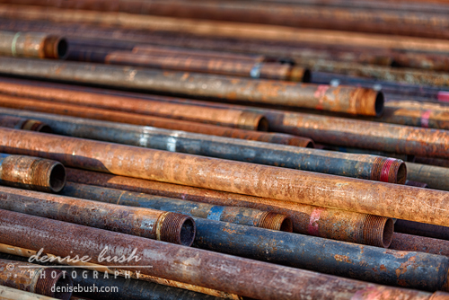 'Rusty Pipes' © Denise Bush