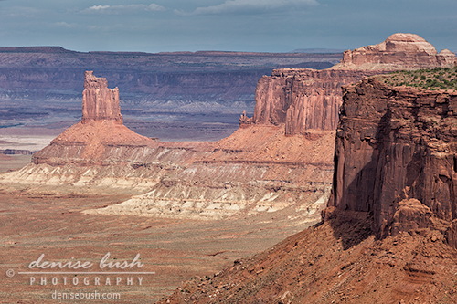 'Tower in the Canyon' © Denise Bush