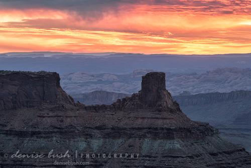 'Canyon Sunrise' © Denise Bush