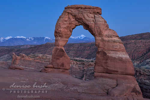 'Delicate Arch at Twilight' © Denise Bush