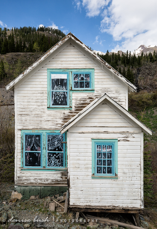'House With Lace Curtains' © Denise Bush