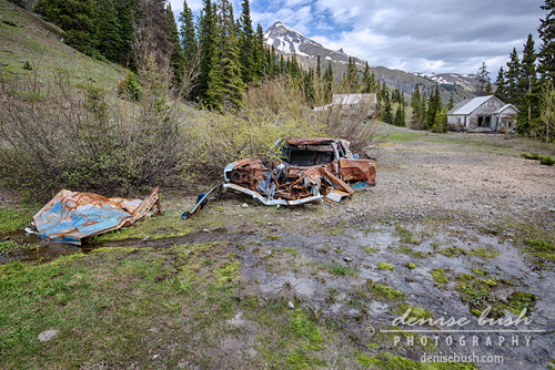 'Mining Camp Car Crash' © Denise Bush