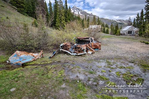 'Mining Camp Car Crash' © Denise Bush