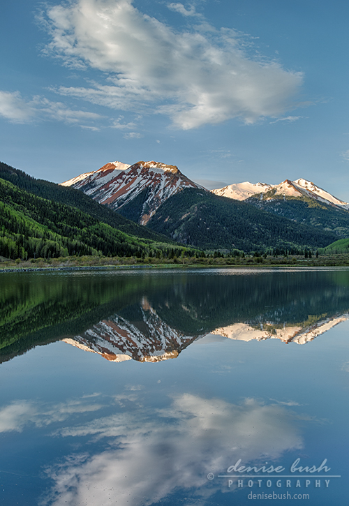 'Red Mountain Morning Reflection' © Denise Bush