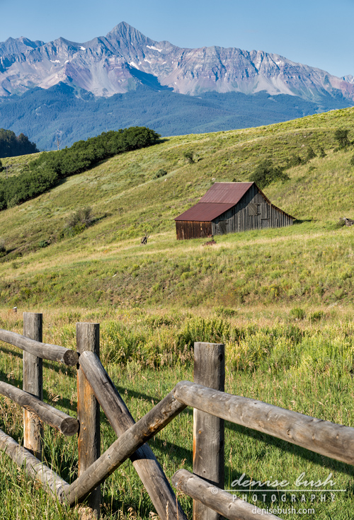 'Mountain Barn' © Denise Bush