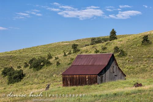 'Summer Cloud Over Barn' © Denise Bush