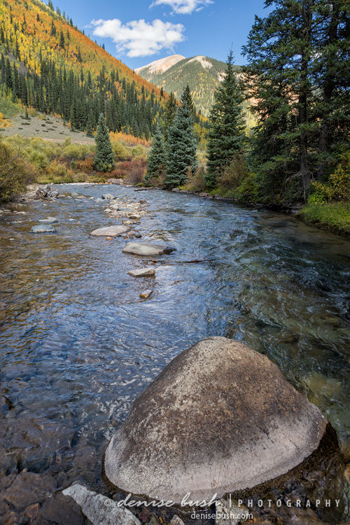 River Along Autumn Ridge © Denise Bush