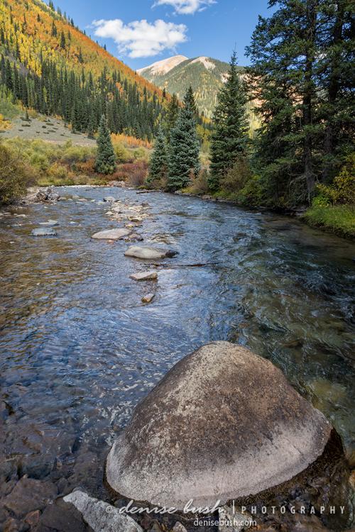 River Along Autumn Ridge © Denise Bush