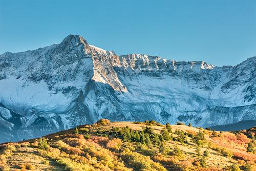 'Study In Contrast, Mears Peak' © Denise Bush