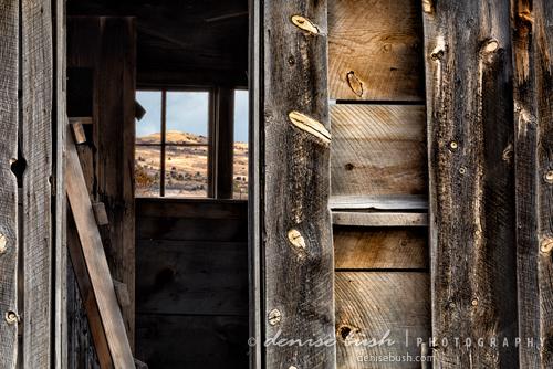 'Through Cabin Window' © Denise Bush