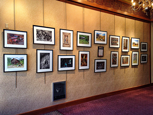 Remnants & Remains Exhibit at the Wright Opera House