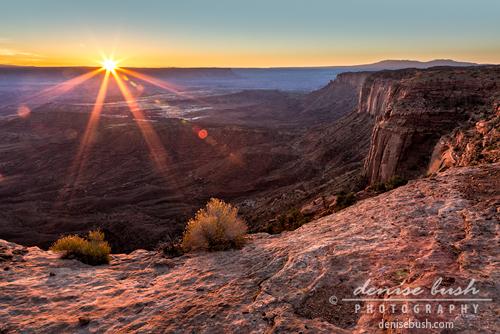 'Canyon Country Sunrise' © Denise Bush