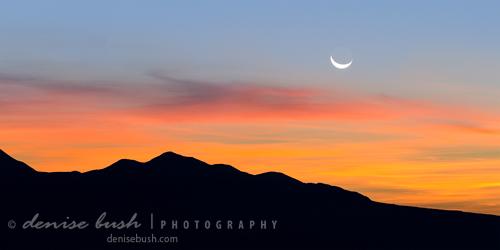 'Moon Over Mountains' © Denise Bush