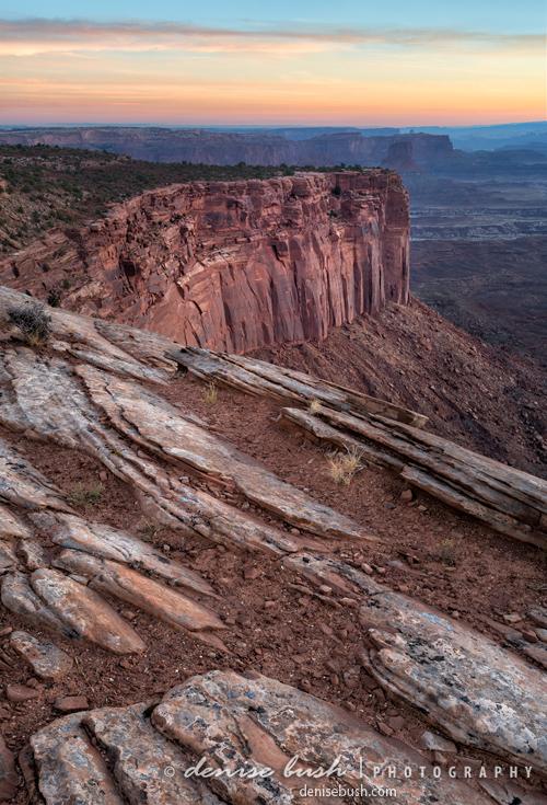 'Peaceful Canyon Morning' © Denise Bush