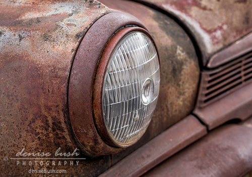 'Headlamp Close-up' © Denise Bush