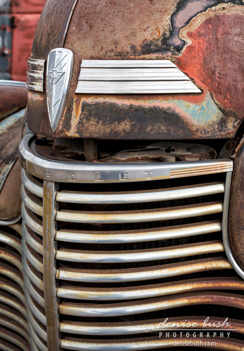 'Old Chevy Detail' © Denise Bush