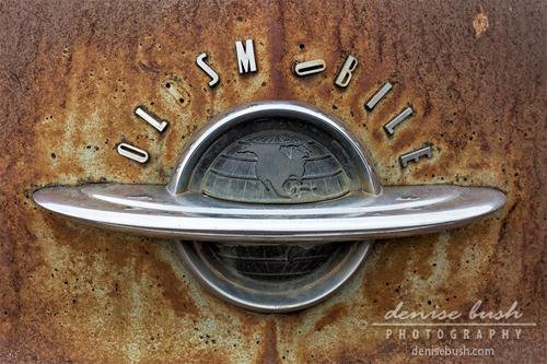 'Oldsmobile Letters' © Denise Bush