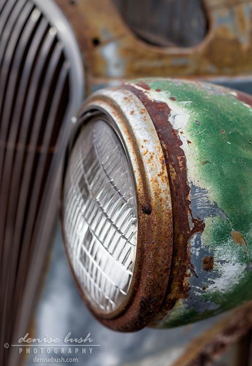 'Rusty Detail' © Denise Bush