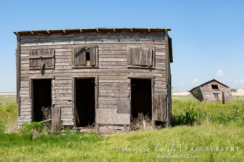 Some Old West buildings stand the test of time … barely!