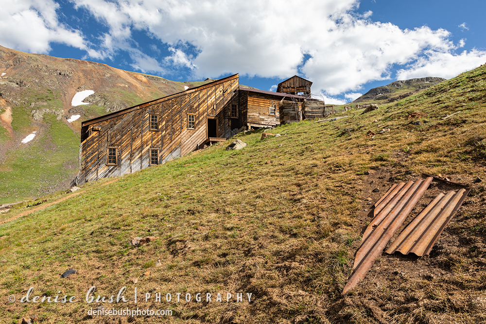 A stamp mill has been partially restored to preserve mining history in Colorado.
