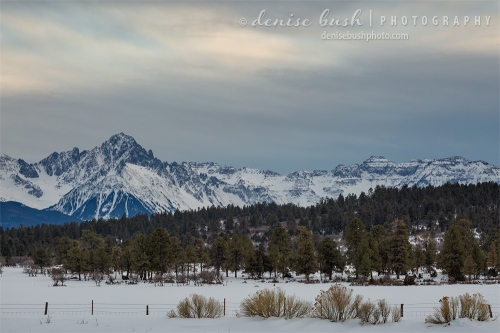 Mount Sneffels is beautiful in every season and from many vantage points.