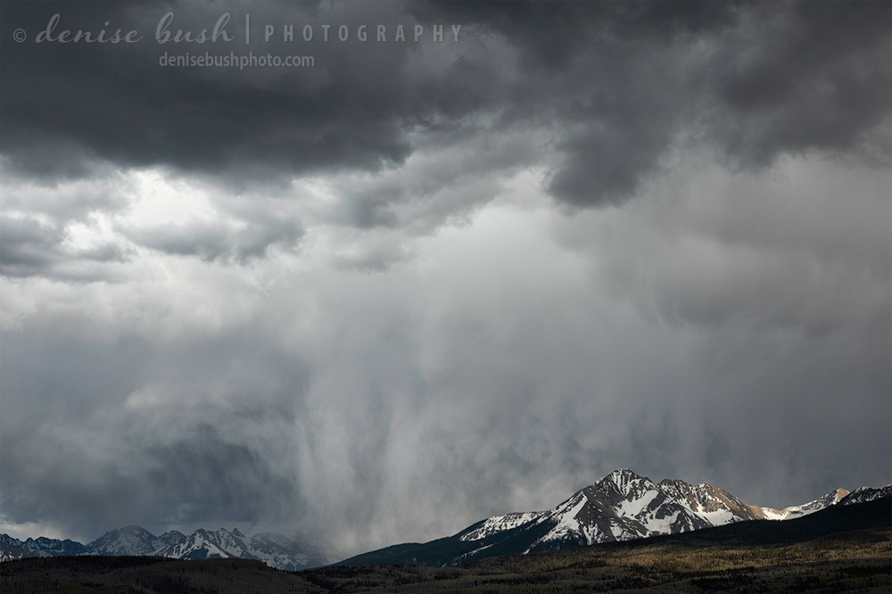 Rain clouds give way for some much needed precipitation in drought-stricken Southwest Colorado.